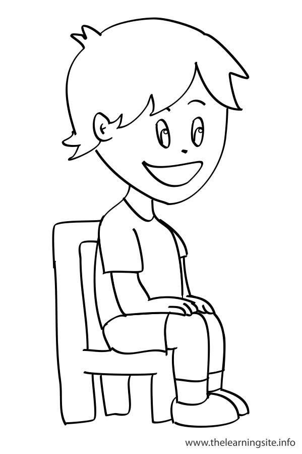 Station . Sit clipart black and white
