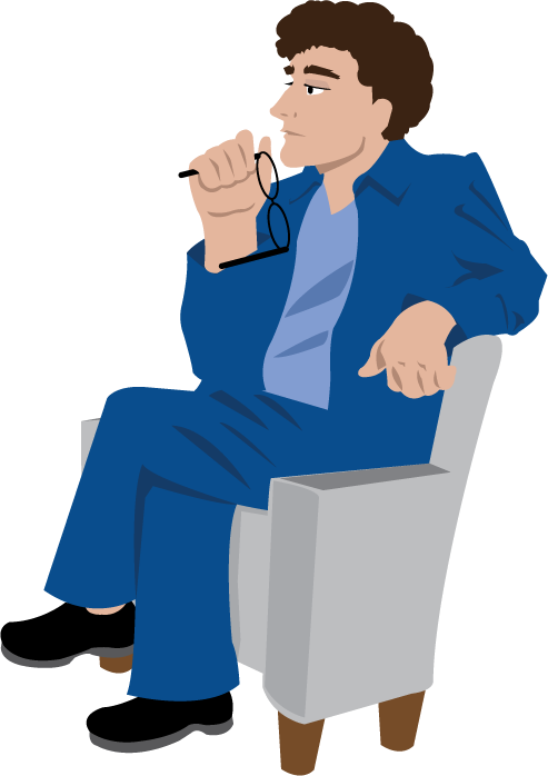 Sit clipart person. Breaking up and reconciling