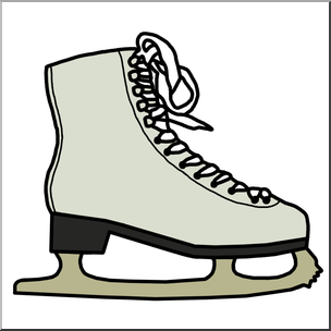 Skate clipart. Hockey at getdrawings com