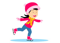 Sports free skating to. Skate clipart