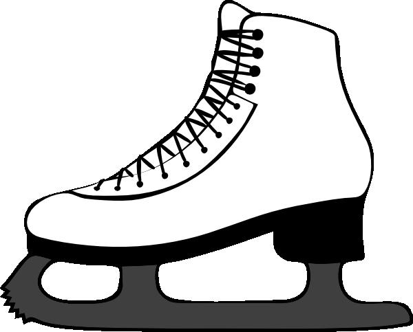 Ice skating clip art. Skate clipart