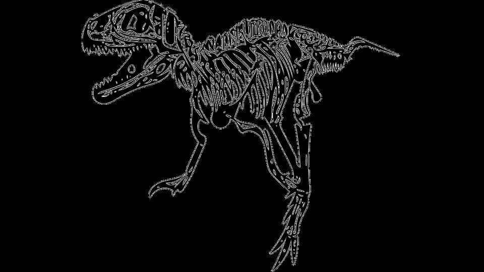 Skeleton clipart angry. Tyrannosaurus rex t skull