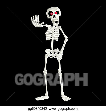 Skeleton clipart angry. Drawing cartoon gg