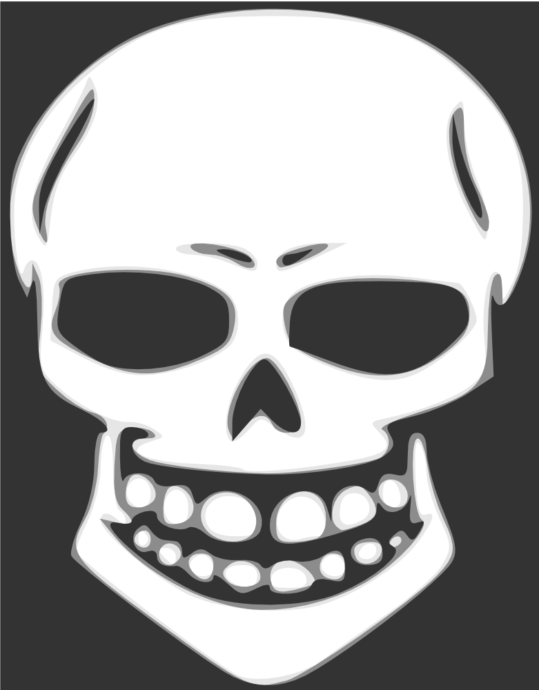 Free skull heads pictures. Skeleton clipart animated