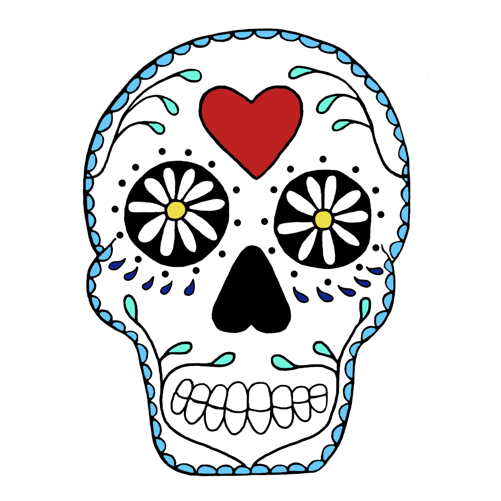 Free skull cliparts download. Skeleton clipart art mexican