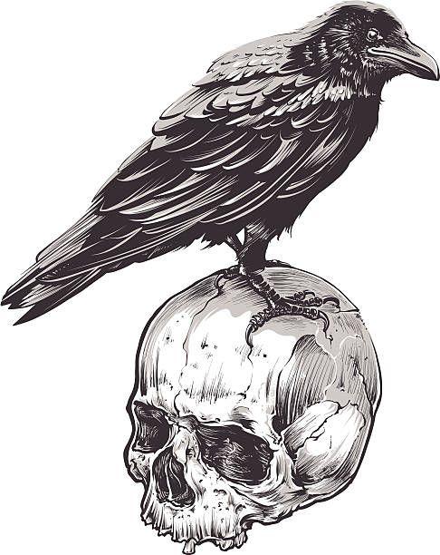 Skeleton clipart crow. Image result for black