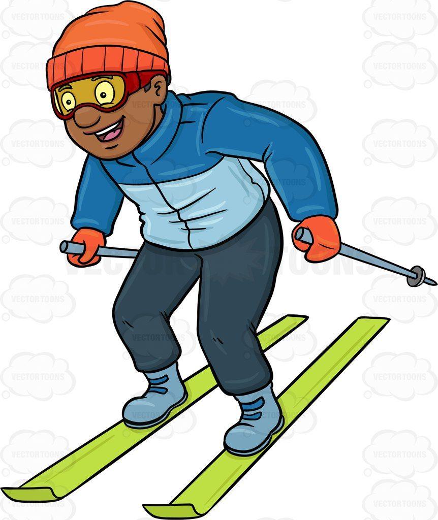 Pin on unit de. Skiing clipart activity