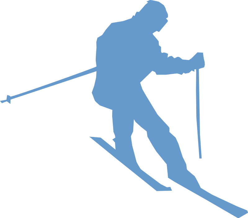 School clubs bay path. Skiing clipart activity