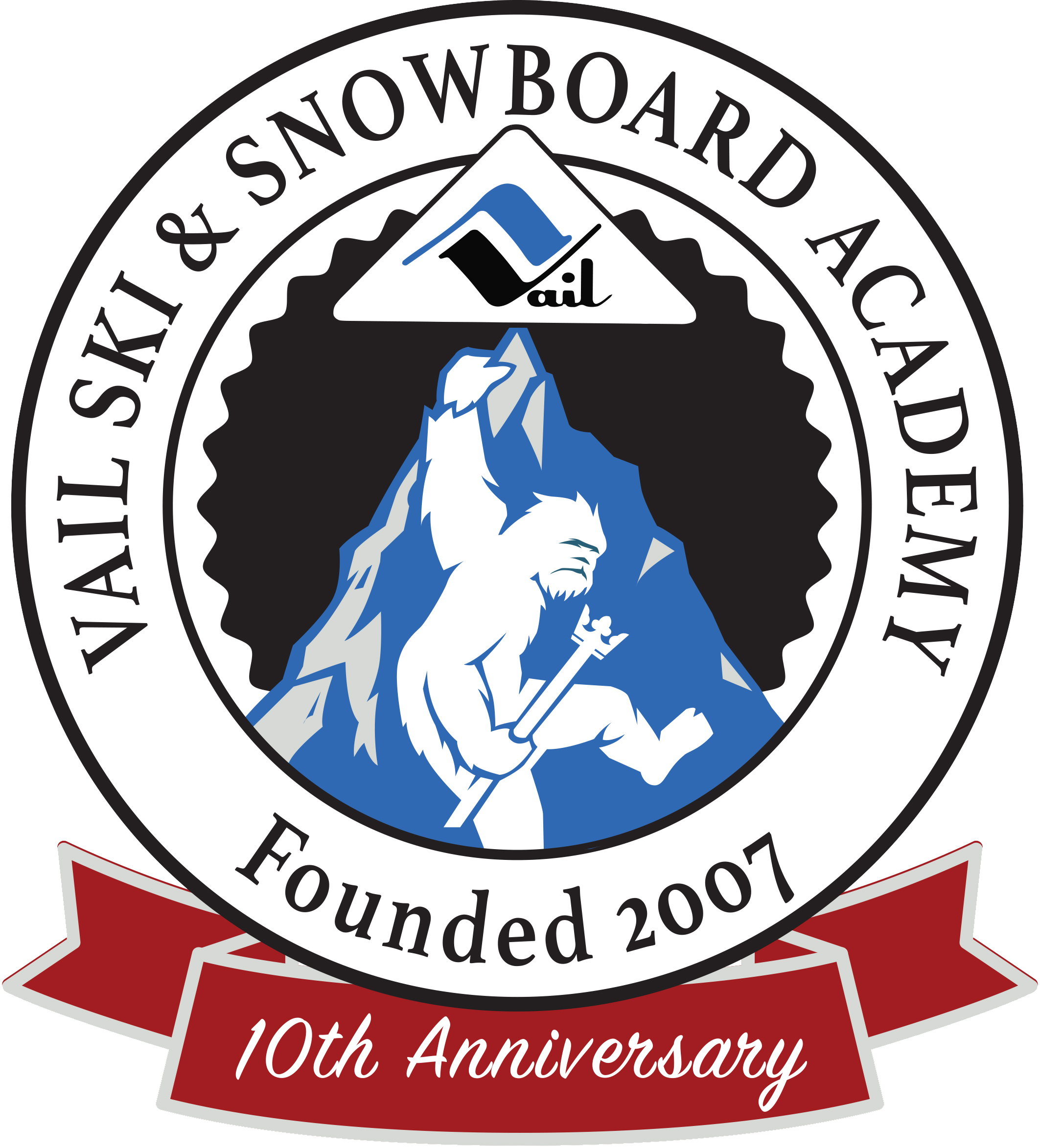 Vail ski and snowboard. Skiing clipart family four
