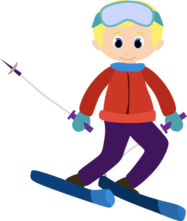 Skis free collection download. Skiing clipart pair