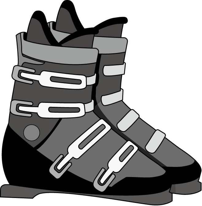 Skiing ski boot