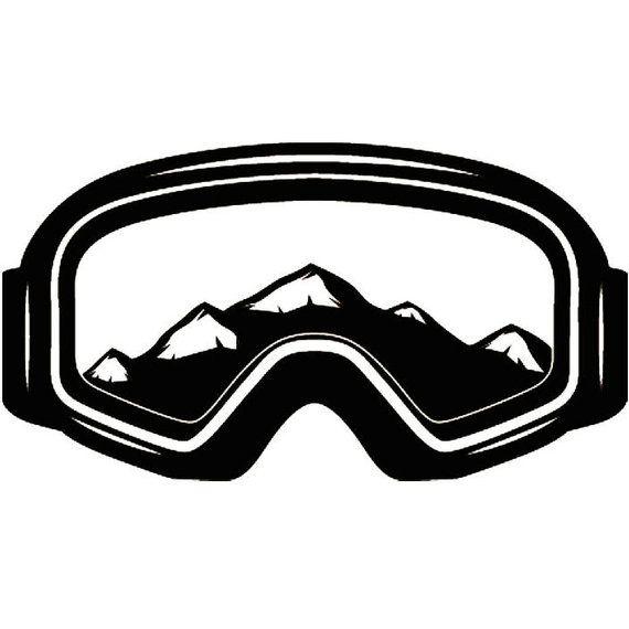 Skiing clipart ski goggles. Pin on bar mitzvah
