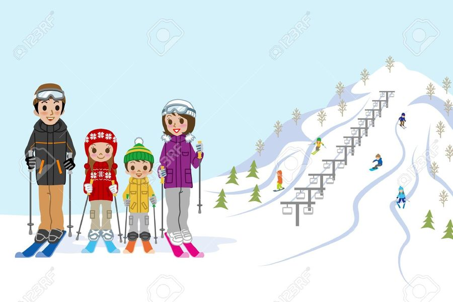 Skis clipart ski hill. Resolution slope skiing