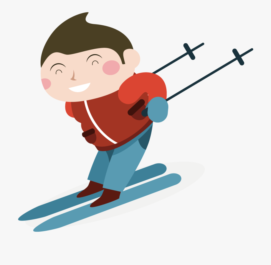 Skis clipart skiing person. Skier child png free