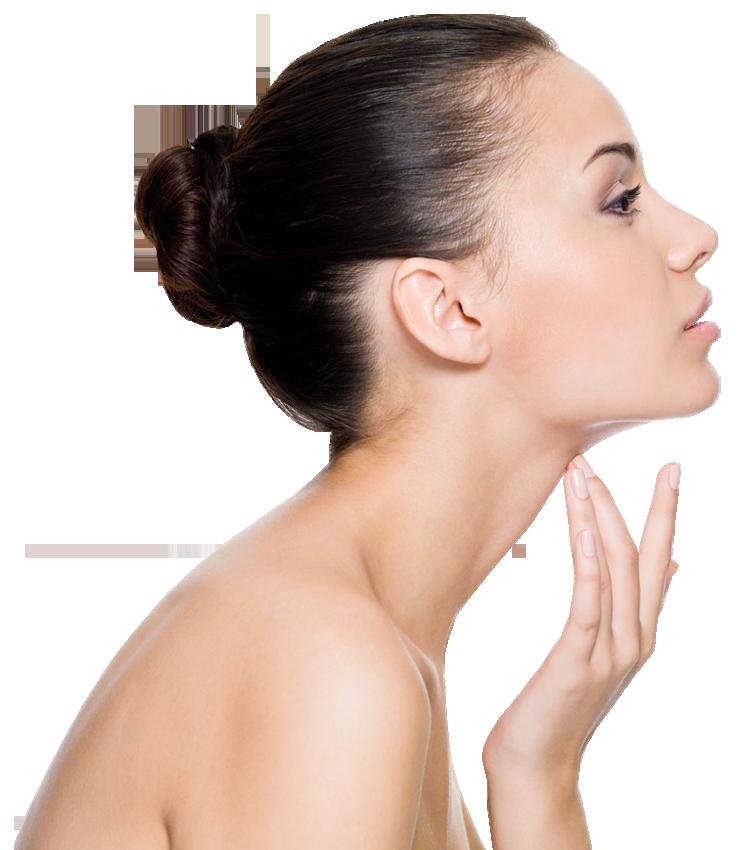 Woman touching on face. Skin clipart beautiful skin