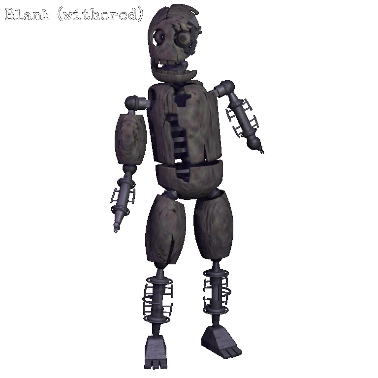 Skin clipart blank body. Withered five nights at