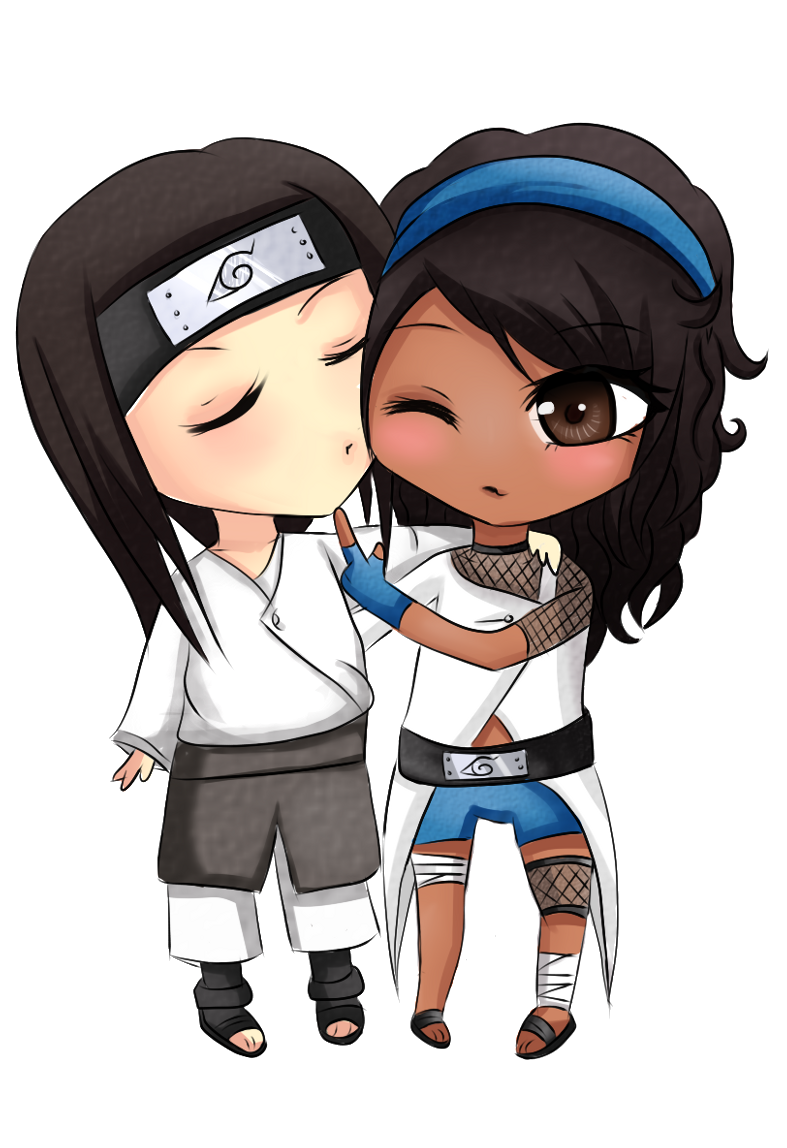 Skin clipart brown skin. Pc neji x mei