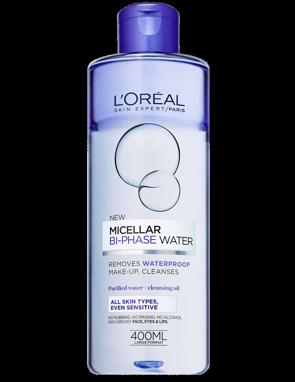 Skin clipart cleansing. Bi phase micellar water