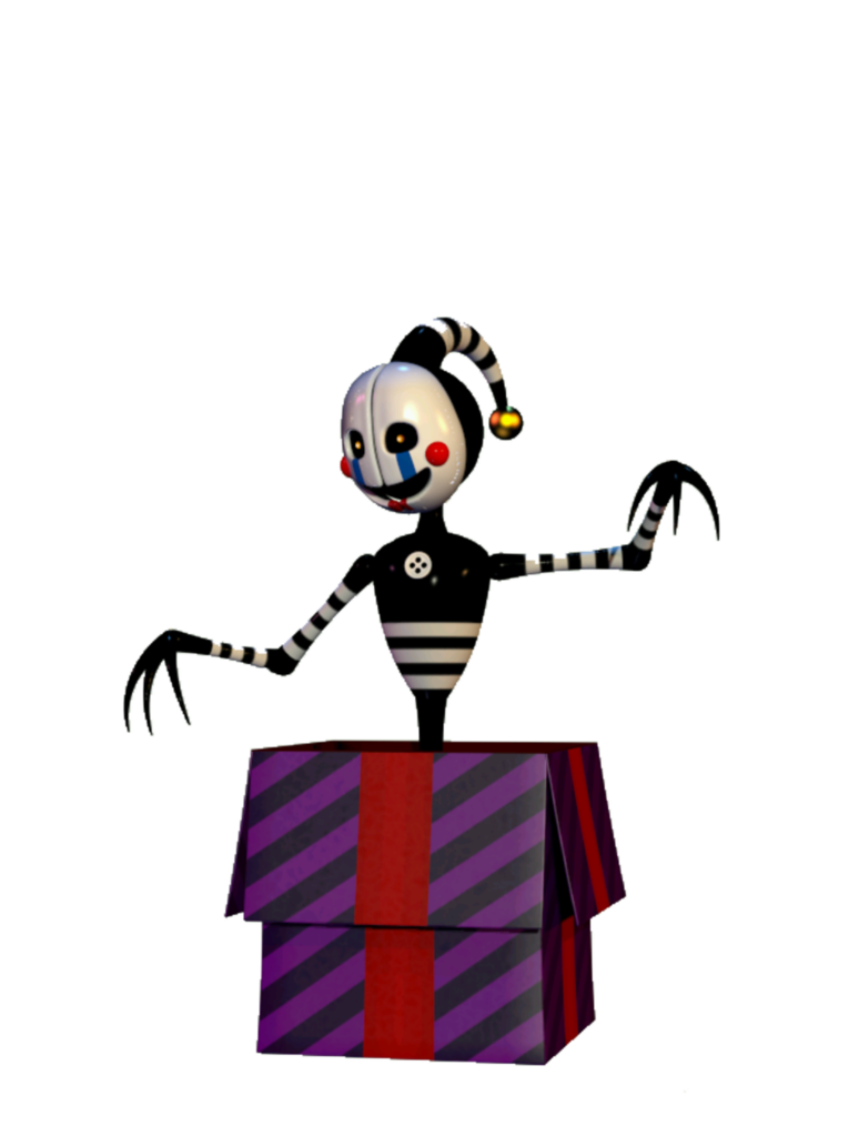 Skin clipart full body. Security puppet fnaf minecraft