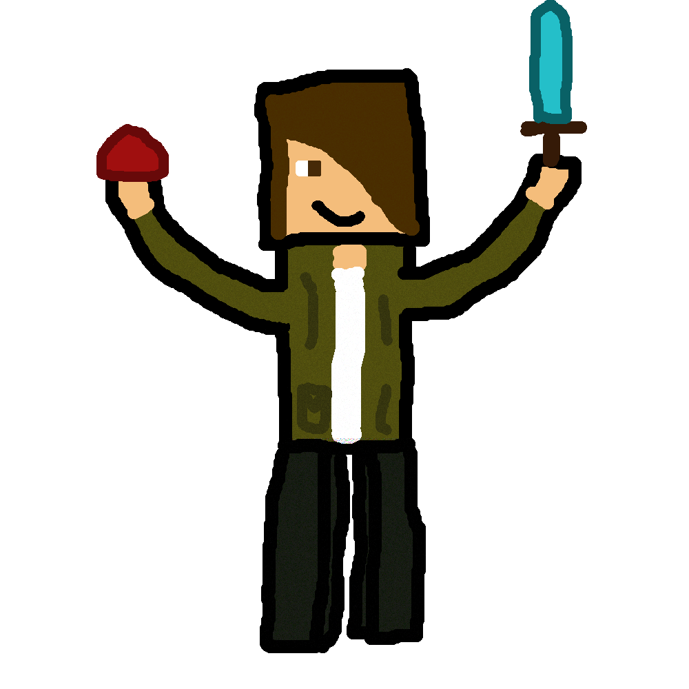 Skin clipart hand sketch. Minecraft drawing at getdrawings