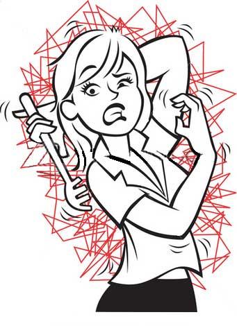 Skin clipart itchy skin. Rash cartoon clip art