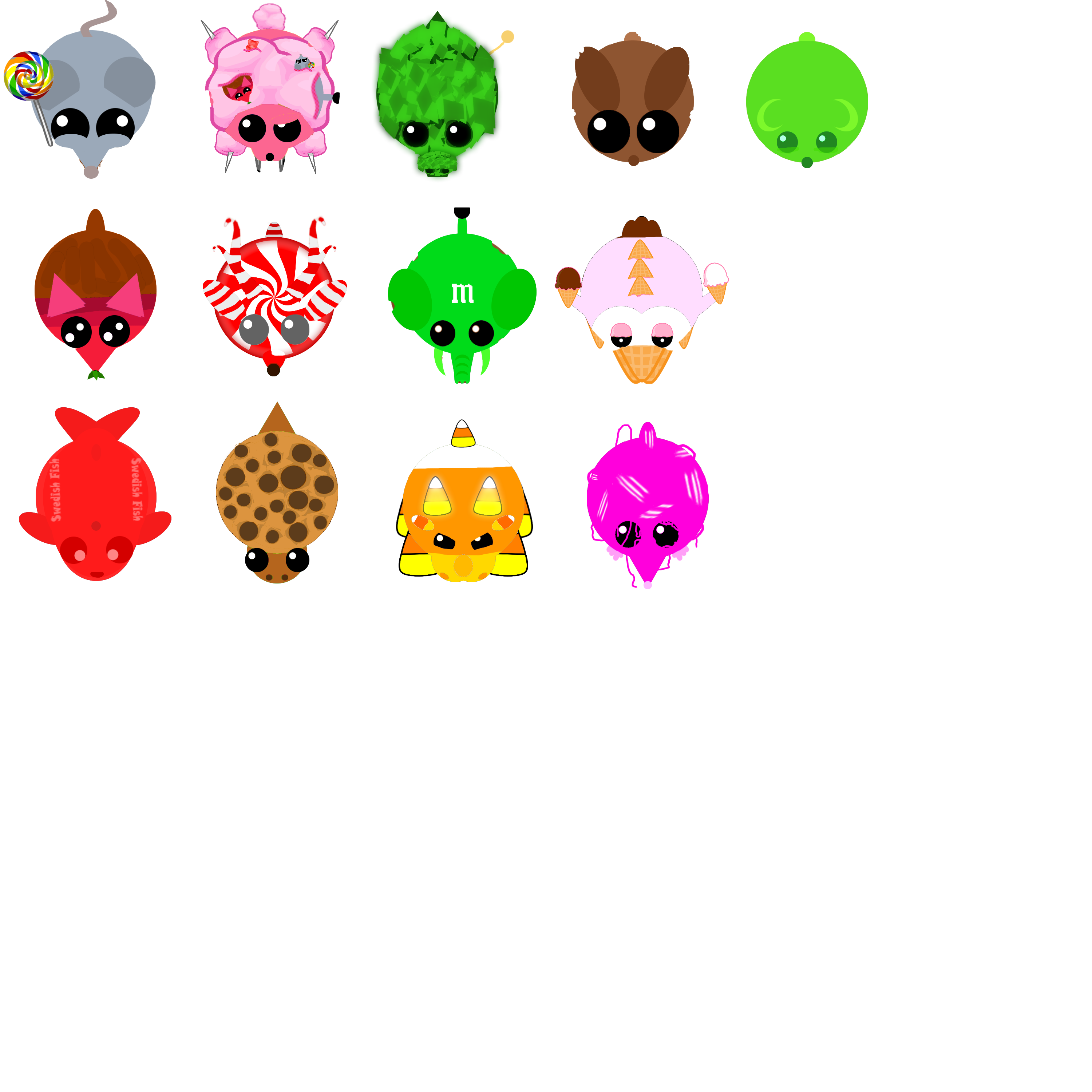 Candy pack for mope. Skin clipart part skin