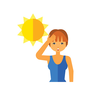 Skin clipart sun exposure. Why does your hurt