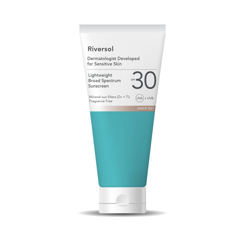 Skin clipart sunscreen. Spf broad spectrum riversol