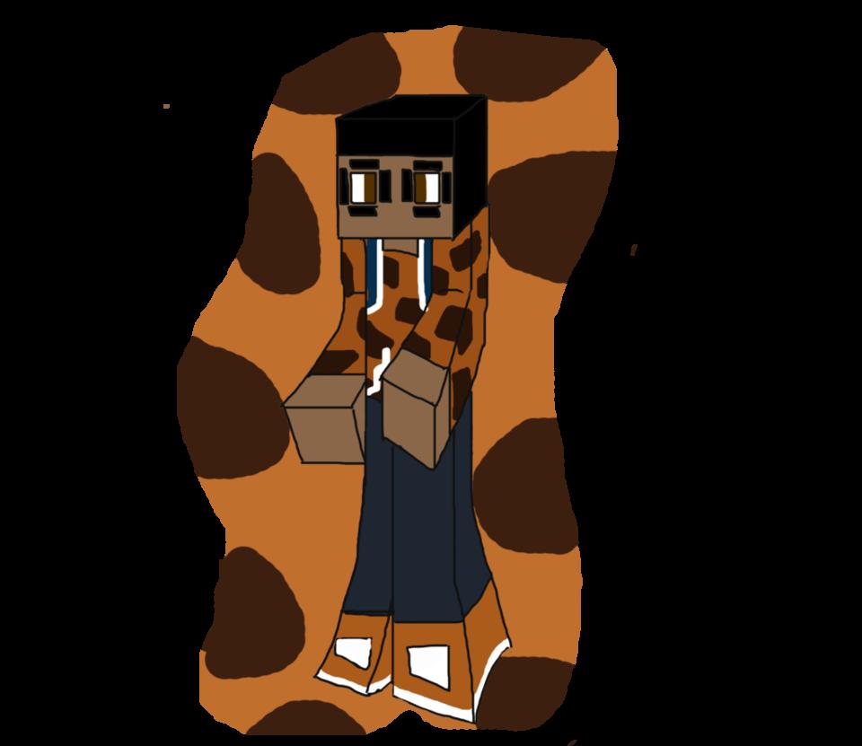 Minecraft art tiger by. Skin clipart tan skin