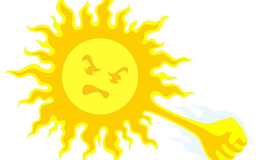 Skin clipart uv radiation. Harmful rays increase risk