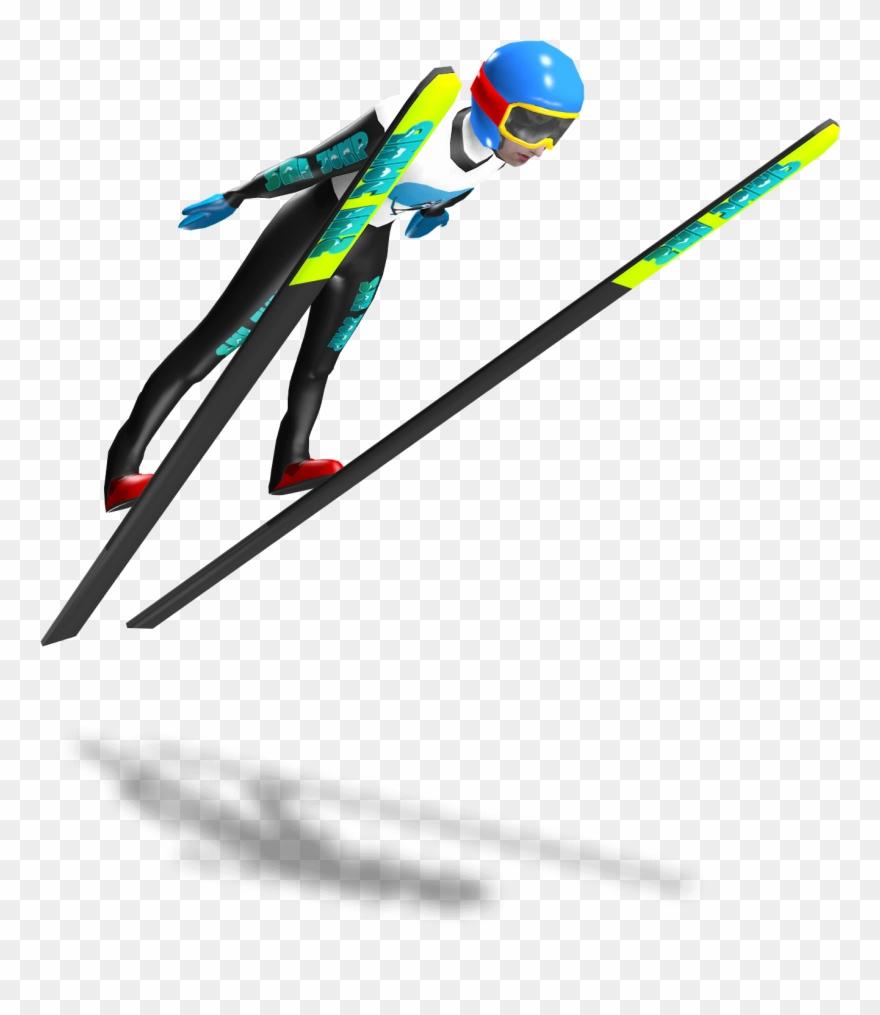 Skis clipart ski jump. Vr jumping world cup