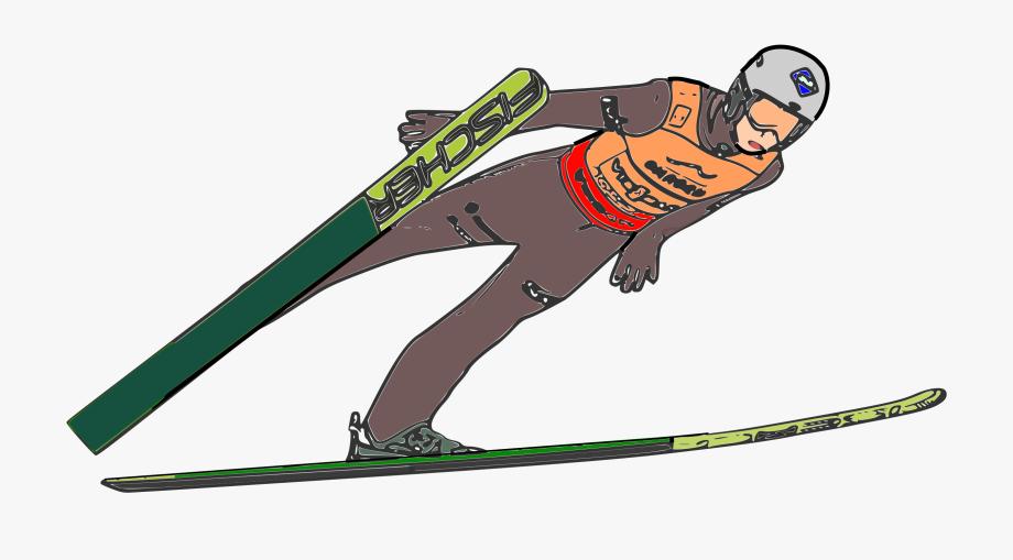 Kamil stoch big image. Skis clipart ski jump