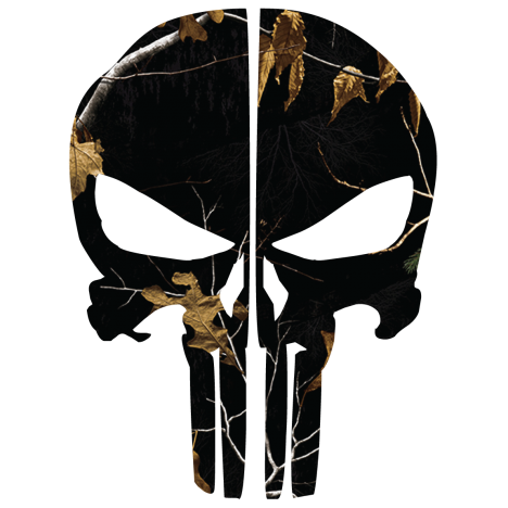Black woods camo punisher. Skull helmet png