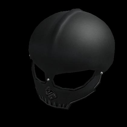 Skull helmet png. Image black roblox wikia