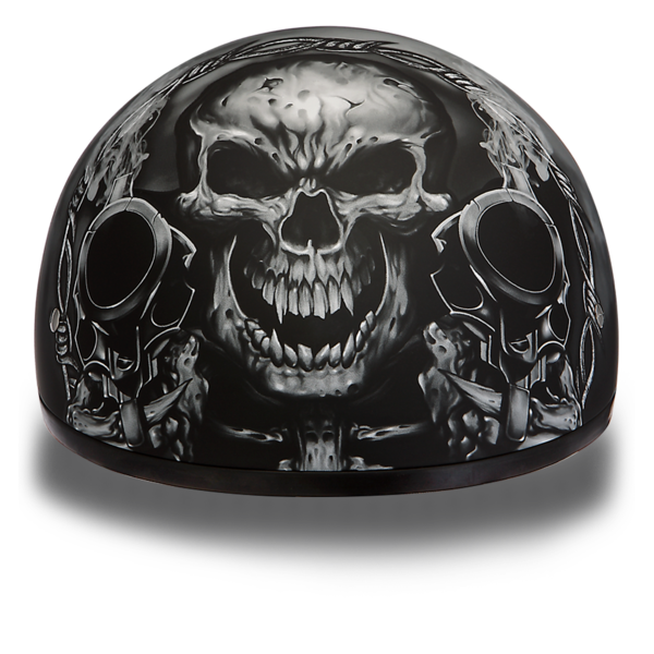 Skull helmet png. Graphic motorcycle helmets guns