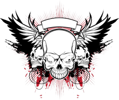Skull vector png.  psd images clan