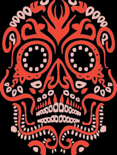 Sugar psd official psds. Skull vector png