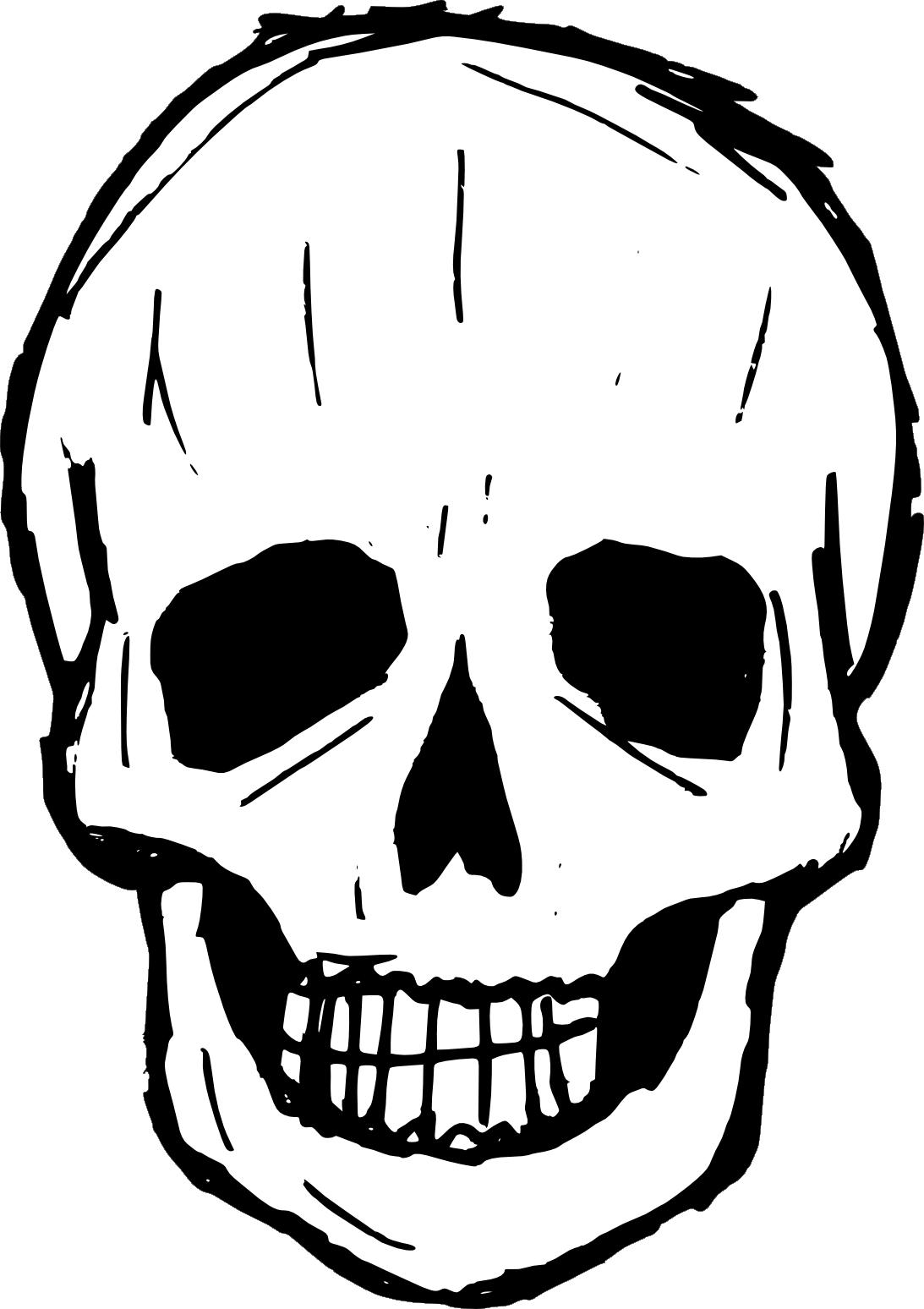 drawing svg transparent. Skull vector png
