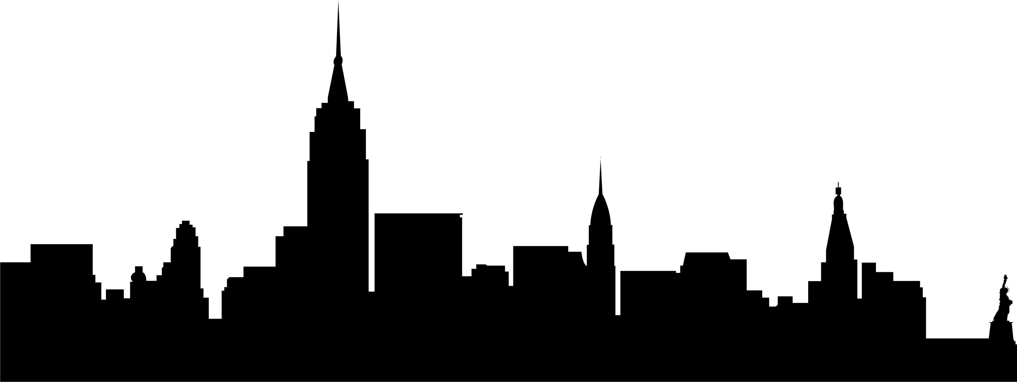 City silhouette clip art. Skyline clipart