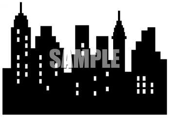 City template royalty free. Skyline clipart