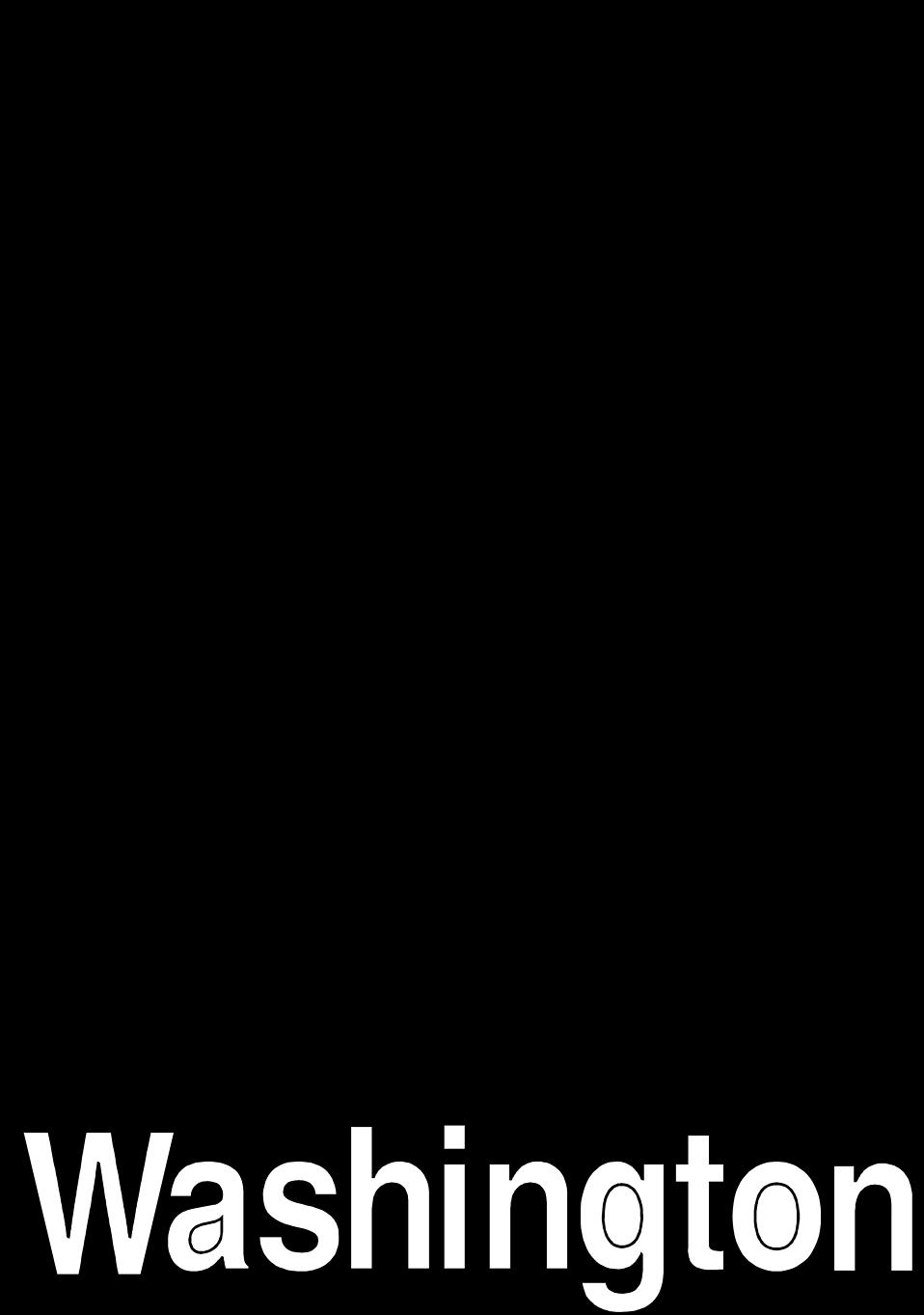 Washington free stock photo. United states clipart silhouette