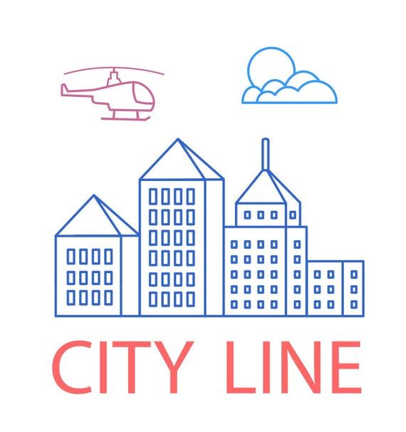 Skyline clipart street city. Houses silhouette building house