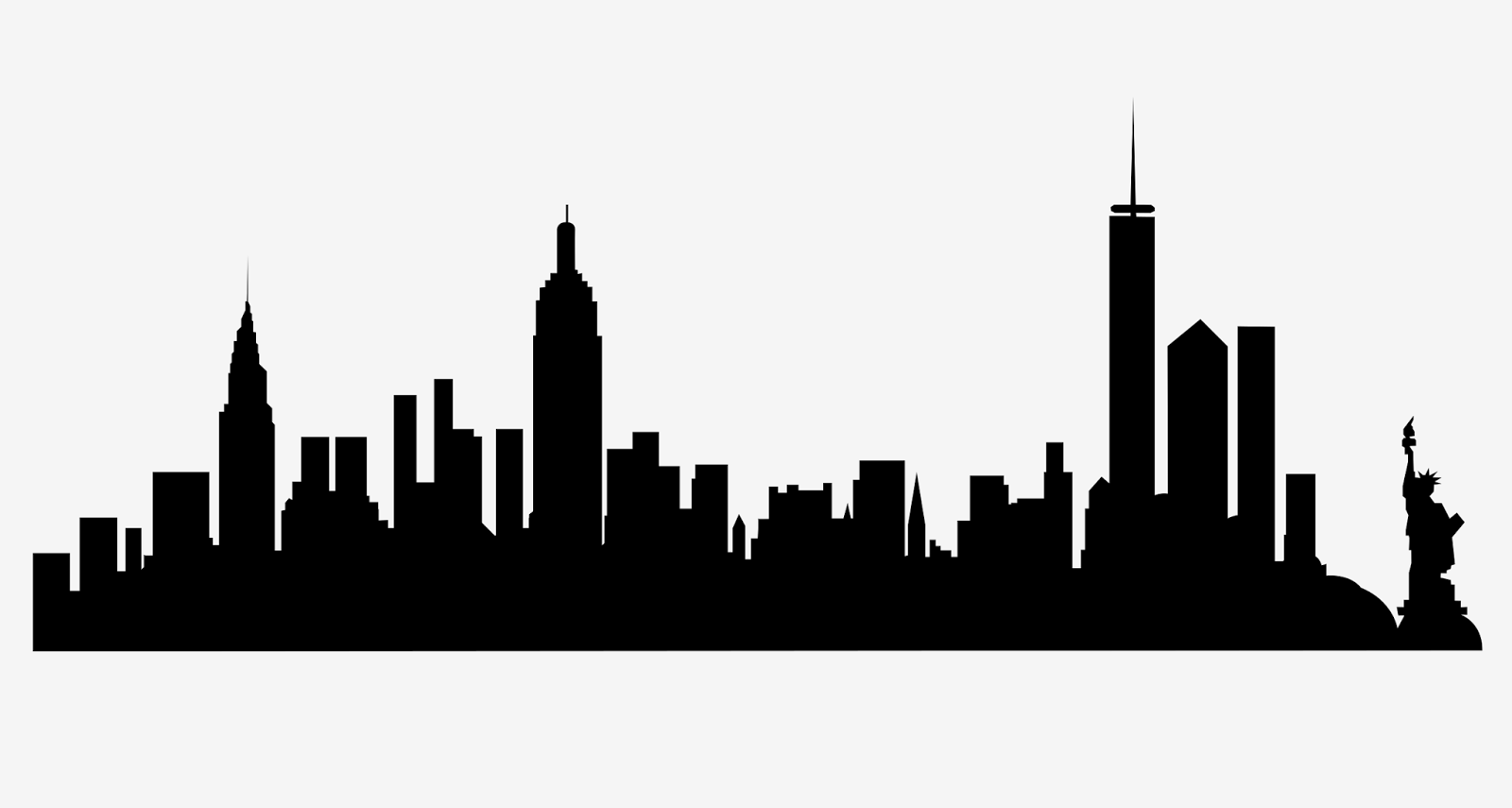 Skyline clipart urban person. This is a free