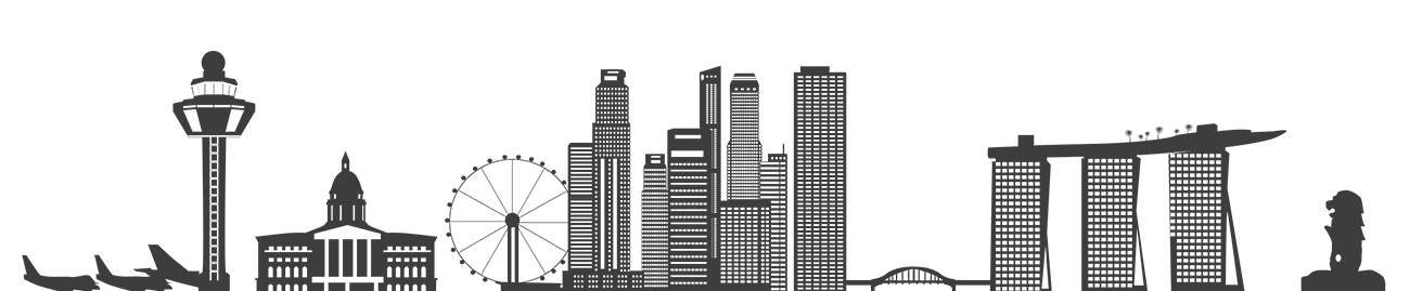 Skyline clipart urban person. Singapore silhouette at getdrawings