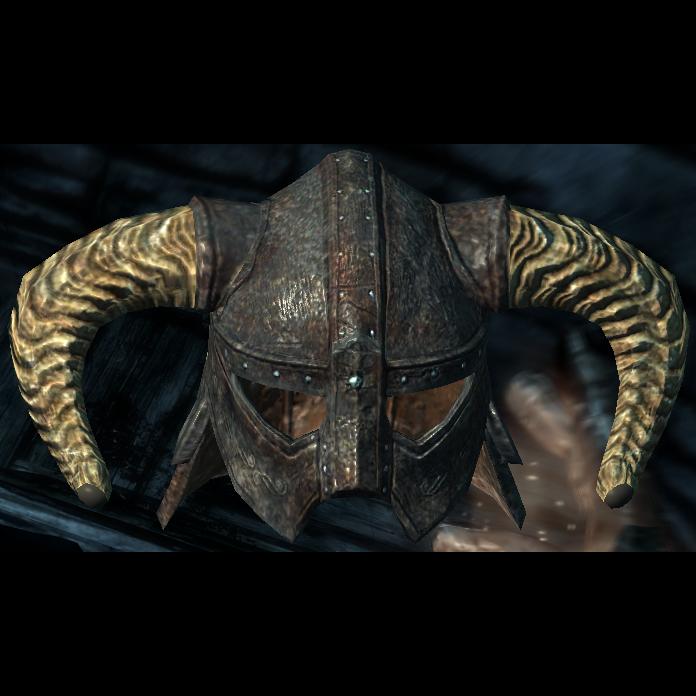 Skyrim iron helmet png. Wiki