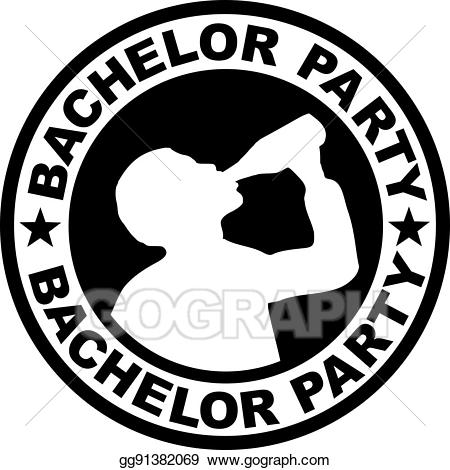 Eps vector badge with. Slavery clipart bachelor party