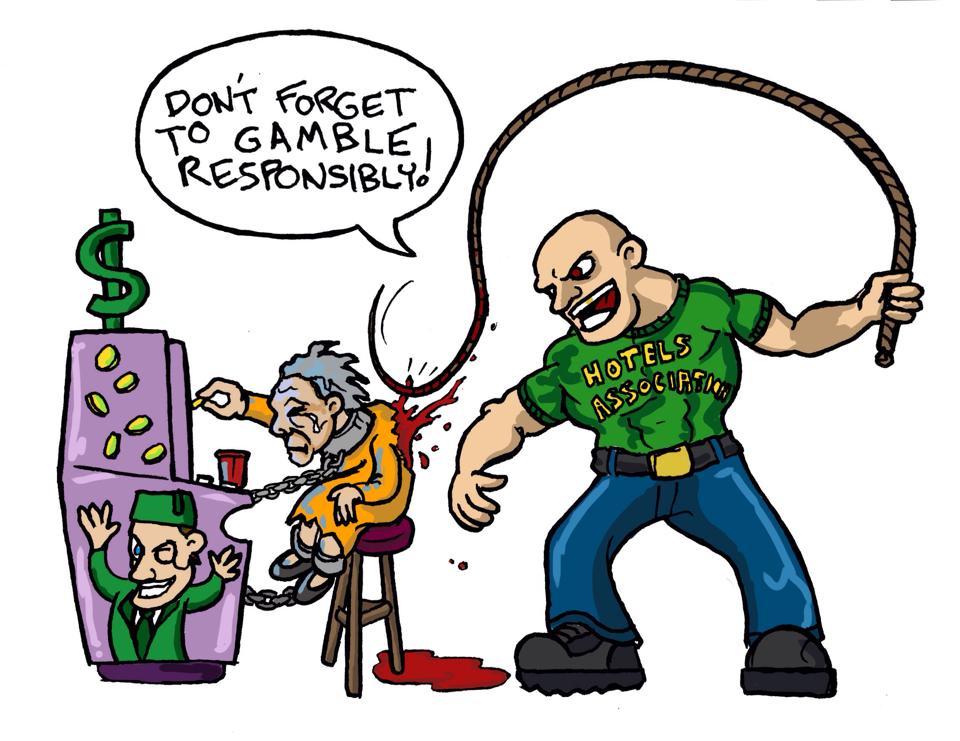 Gambling addiction as suburban. Slavery clipart deliberate