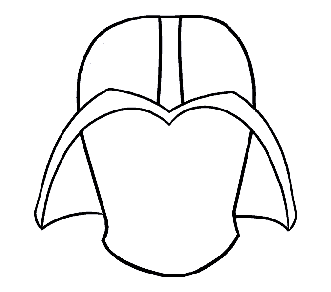 How to draw darth. Slavery clipart easy drawing