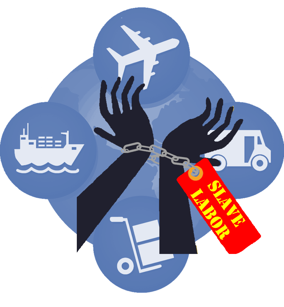 Rooting out slave in. Slavery clipart forced labor