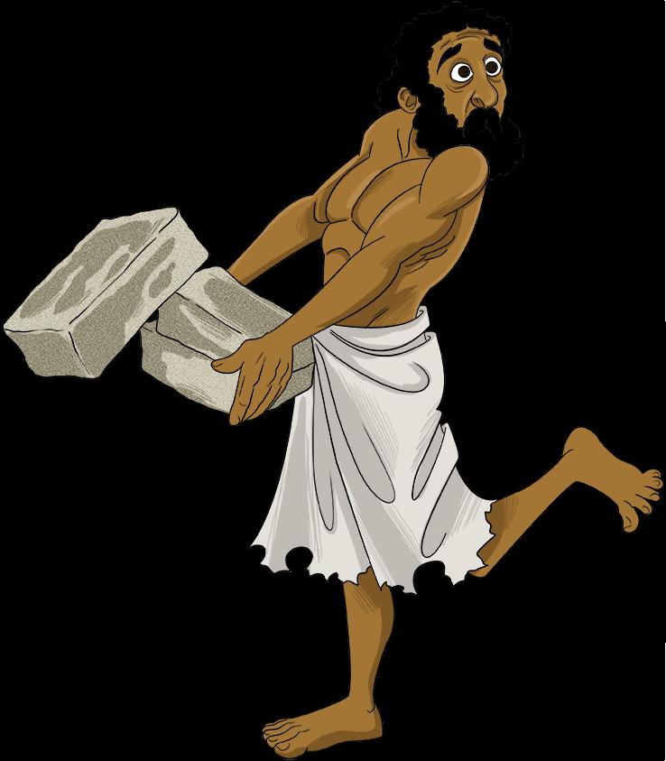 Slave hebrew frames illustrations. Slavery clipart servitude